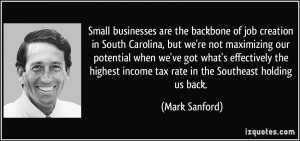 Small businesses are the backbone of job creation in South Carolina ...