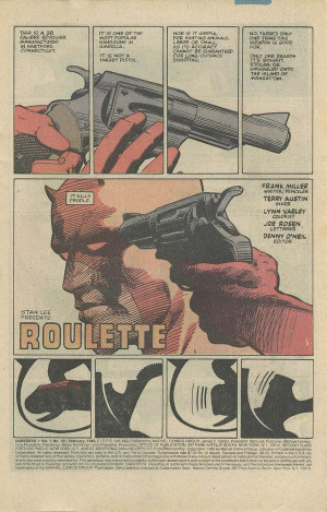 Moment Between...Daredevil and a Gun!