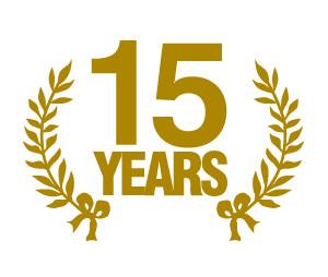 Happy 15 Year Work Anniversary