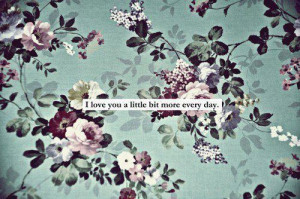 cute, flowers, love, quote