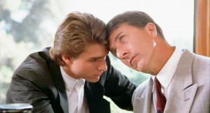 Rain Man es una película estadounidense de 1988, dirigida por Barry ...