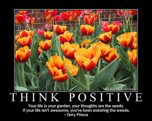 The power of positivity...