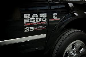 2014 Ram 1500 Cummins 25 Anniversary Door Badges