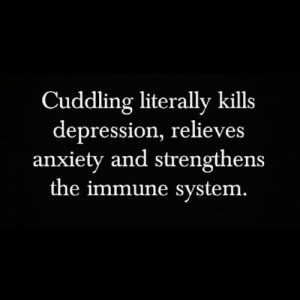 ... kills depression, relieves anxiety and strengthens the immune system