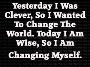 change starts from within