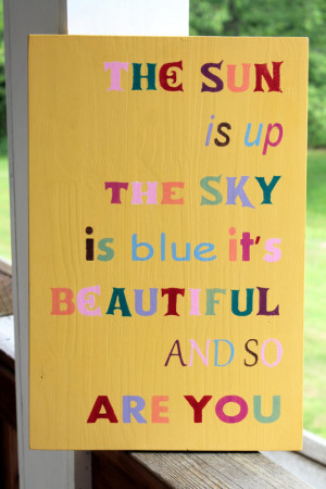 Beatles Quote Wood Sign, Nursery Sign, Beatles Lyrics, Song Sign, The ...