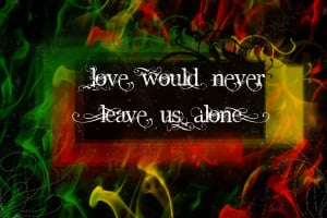 Bob Marley quote wallpaper by iSystemChaos