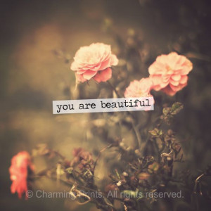 Cute Wall Art, You Are Beautiful, Vintage Roses, Quote, Quotes, Quotes ...