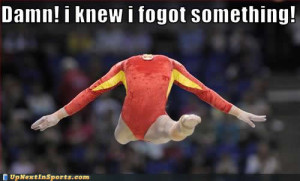 Funny Gymnastics Pictures