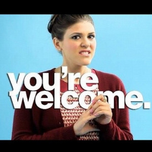 Sadie Saxton you're welcome
