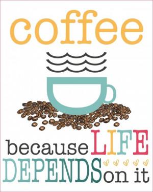 free coffee printable by marine parents