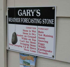 Funny Picture -- Forecasting the Weather..