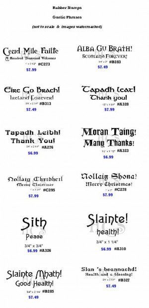 gaelic blessing gaelic sayings carved gaelic sayings