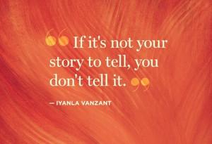 Quotes / Don't gossip.
