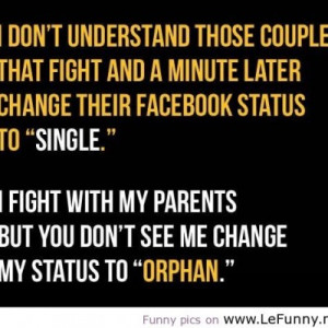 Don't Understand Those Couple That Fight And A Minute Later Change ...