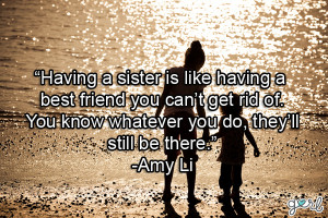 cute quotes about best friends being like sisters
