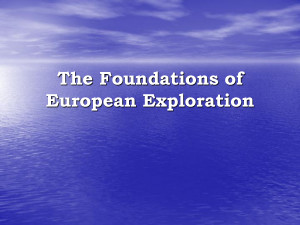 European Exploration The