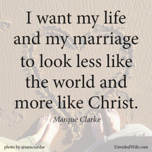 ... God-centered relationship. … Read More Here http://unveiledwife.com