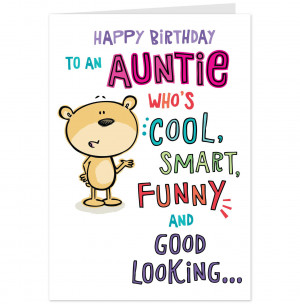 Birthday Cards Aunt Wishes For 50th Card Hallmark Aus Greetings Funny ...
