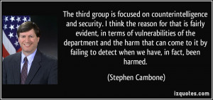 Counter-Intelligence quote #1
