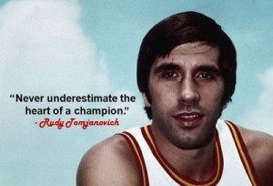 Never underestimate the heart of a champion.