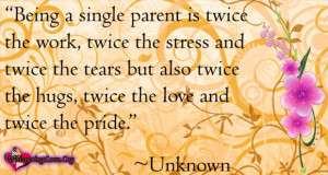 Quotes About Being a Single Parent
