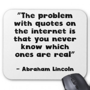 Abraham Lincoln Internet Quote IPhone 5 Covers