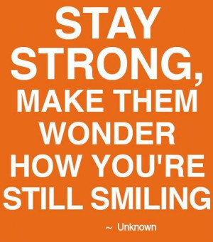 girls, life, people, quote, quotes, smile, stay strong, text, will
