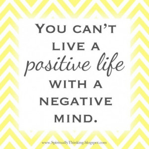 Think Positive Thoughts Quotes