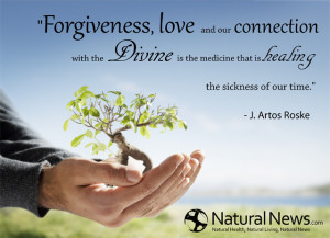 Forgiveness, love and our connection with the divine is the medicine ...