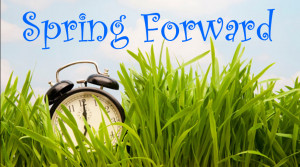 Daylight Savings Time Begins 2015