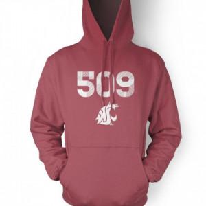 Home / Sweatshirts / WSU 509 Area Code Hoodie Sweatshirt