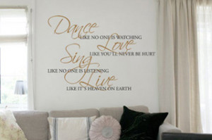 Wall Quote Design