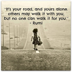 Rumi quote. Inspirational.