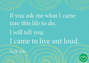Quote: Emile Zola (Love, Nela)