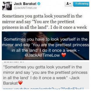 Jack Barakat All Time Low Internet Site, Website, Web Site
