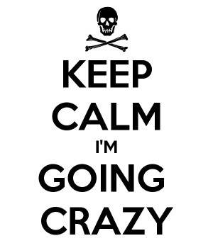 You Going Crazy Quote Wallpaper