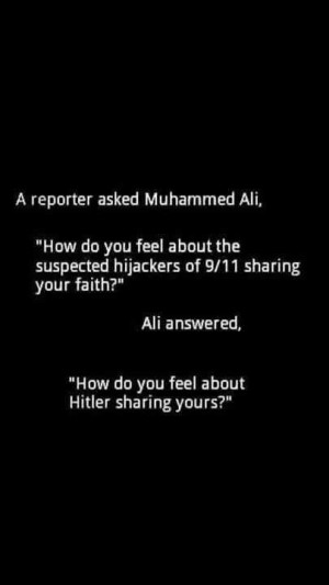 Muhammad Ali - still stings like a bee,