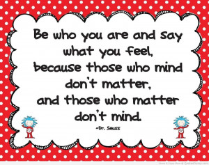 Dr Seuss Love Quotes Gallery