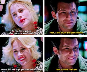 True Romance Movie Quotes Pie