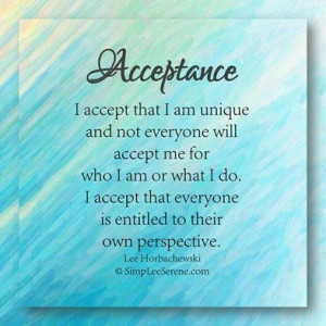 Self Acceptance Quotes Sayings