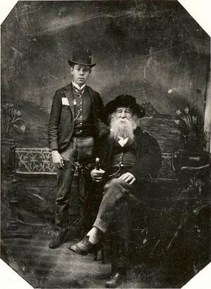 Lovers Bill Duckett and Walt Whitman