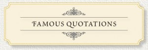 Famous quote for memorial cards.