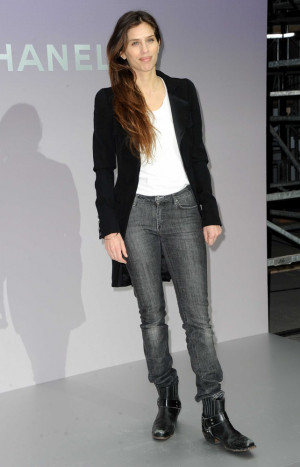 Celebrities Chanel Show...