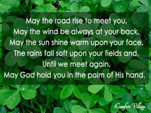 Happy St. Patrick's Day Blessing!