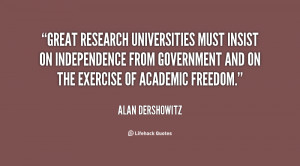 Great research universities must insist on independence from ...