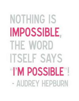 Audrey Hepburn Hope Quotes