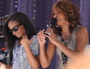 Bobbi Kristina Brown, Whitney Houston's 21 year old daughter, was ...