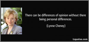 Difference of Opinion Quotes