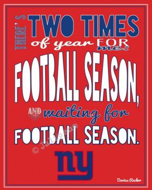 NY New York Giants Football Season Kickoff Darius Rucker Quote - In ...